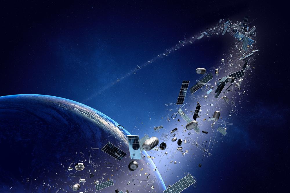Ta niesamowita wizualizacja każe się zastanawiać nad problemem zaśmiecenia orbity okołoziemskiej