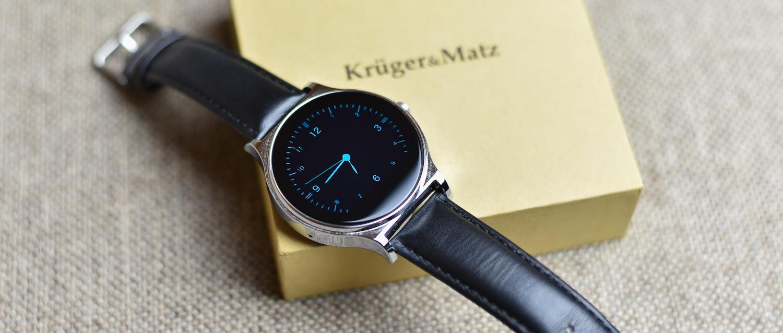 Ładny, a przy tym zaskakująco tani smartwatch. Kruger&Matz Style – pierwsze wrażenia Spider's Web