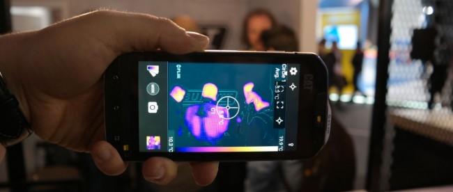 CAT S60 kamera FLIR