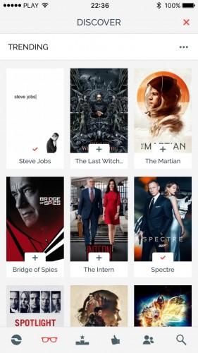 iShows Movies to aplikacja do obsługi filmów w serwisie Trakt