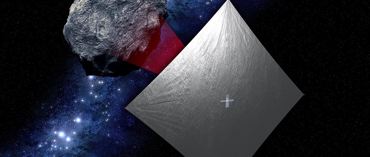 Następny pojazd NASA będzie… słonecznym żaglowcem