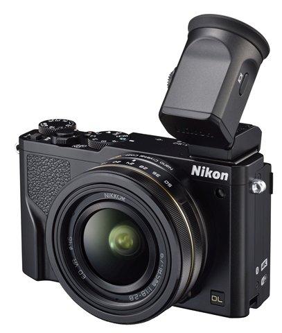 Nikon DL 18-50 prezentuje się najciekawiej ze wszystkich.