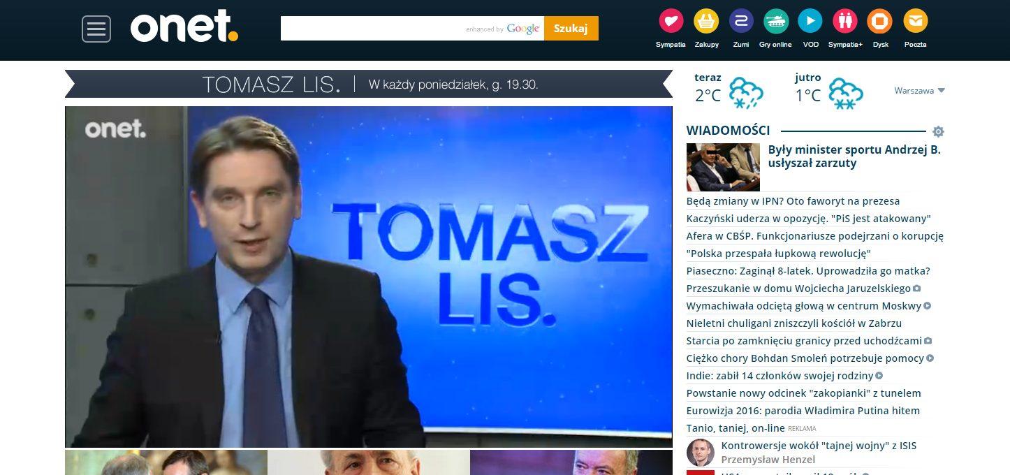 Tomasz Lis #wygaszone