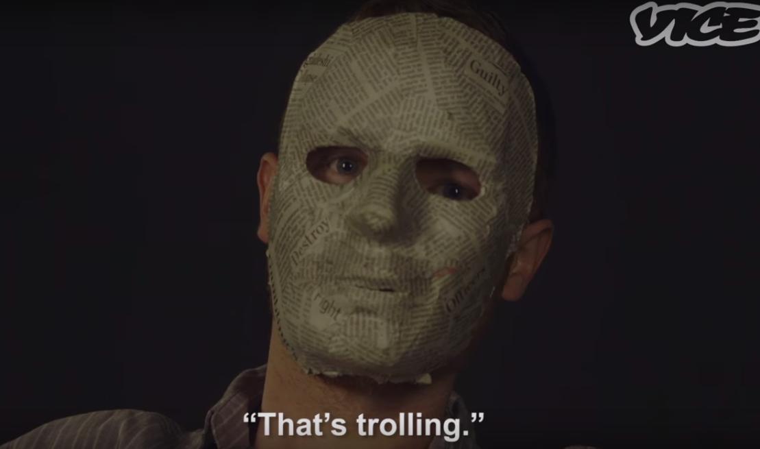 Najlepszy portret internetowego trolla