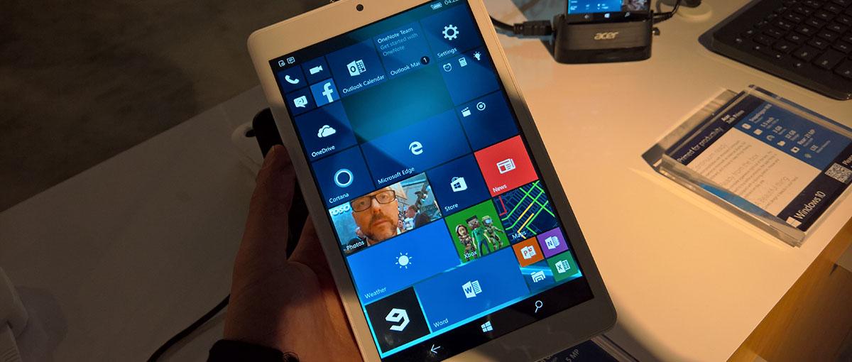 A więc tak się sprawuje Windows 10 na minitablecie