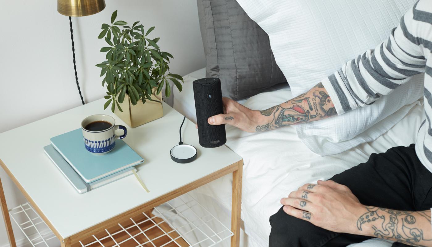 Amazon Echo Dot i Tap i Alexa w przeglądarce
