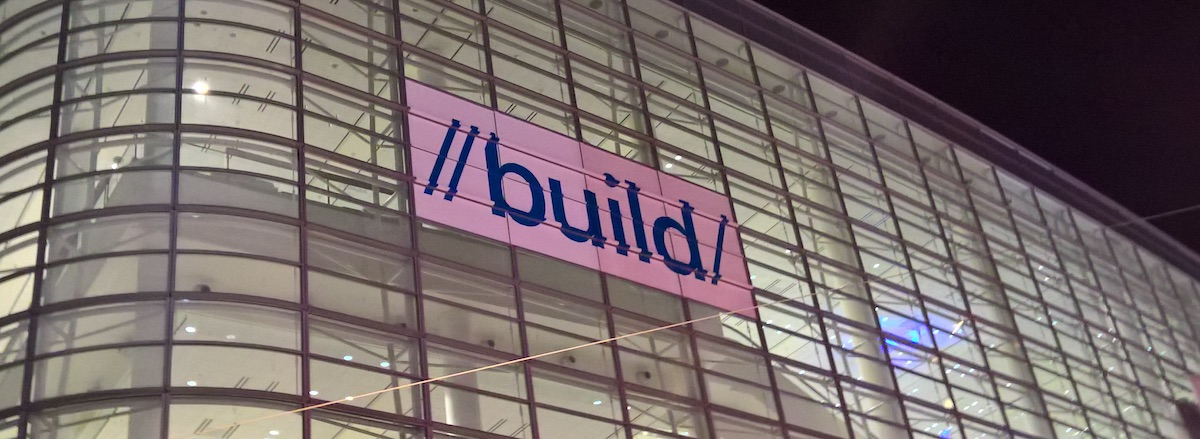 Microsoft Build 2016 – live blog Spider's Web