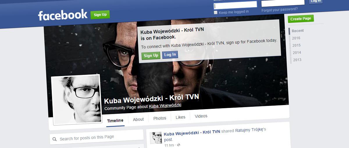 """Wojewódzki do Facebooka: """"mam was w dupie"""", czyli festiwal banowania trwa w najlepsze"""
