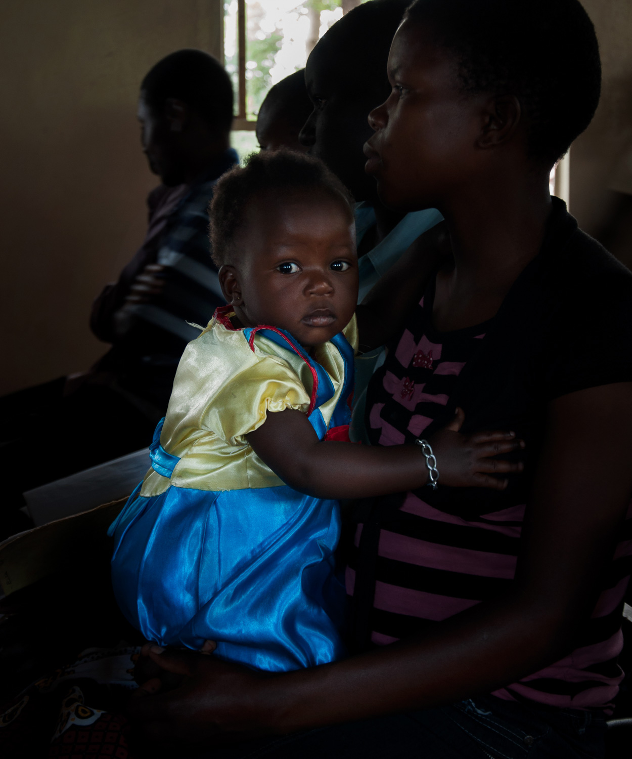 A dress we utilize once, can turn a little girl into a princess for life. I was in Kenya when this little girl came into Sunday church with her beautiful Snow White dress. These clothes, that we throw away get shipped into Africa and are sold for some cents.