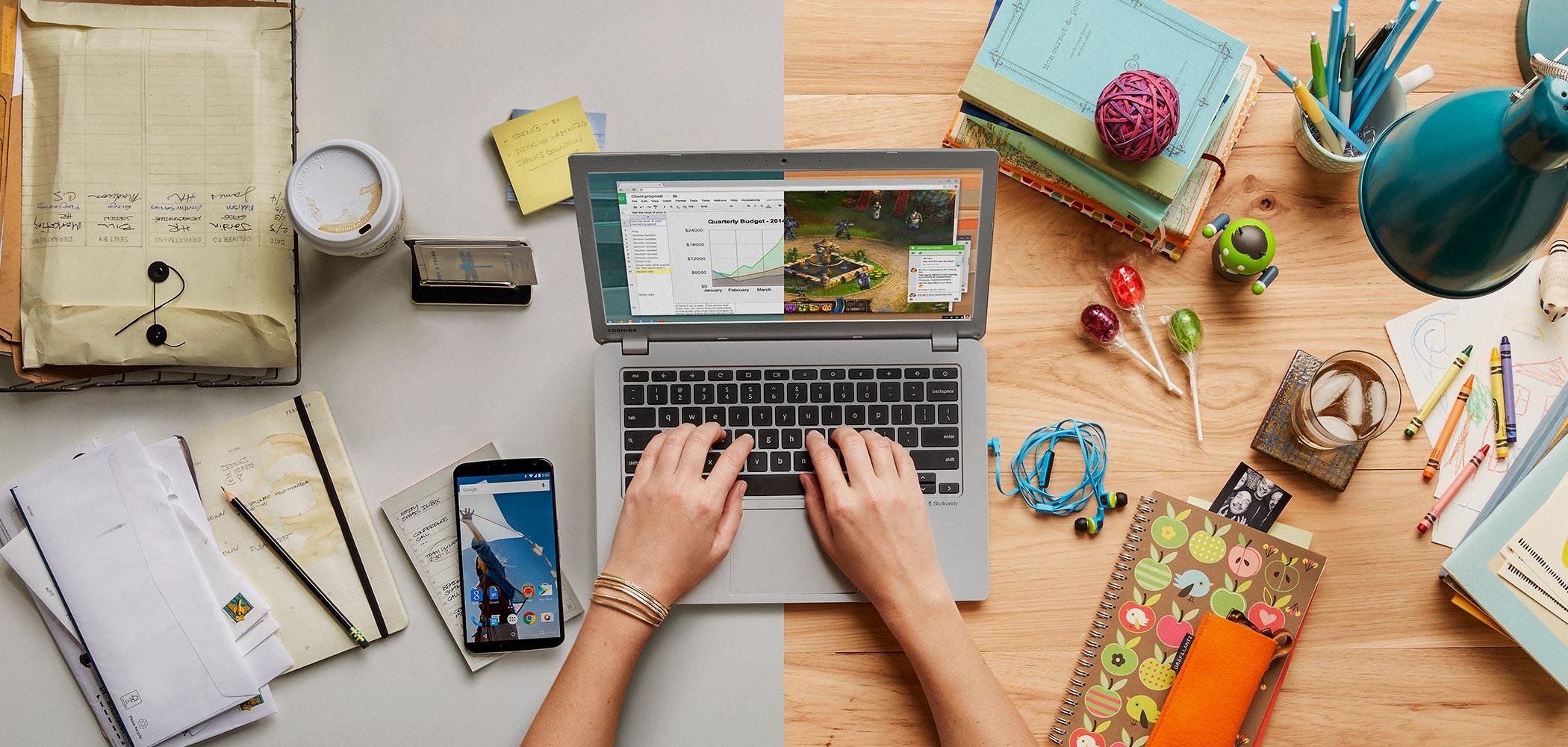 Nowy powód, żeby kupić Chromebooka. Chrome OS obsłuży miliony aplikacji… z Androida