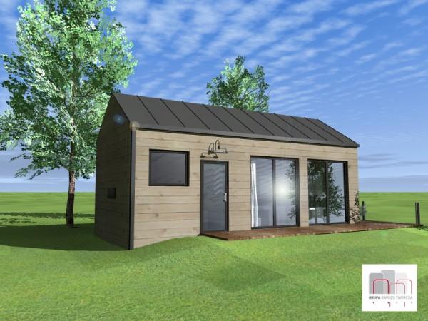 Tani dom można zbudować już za 40 000 zł.