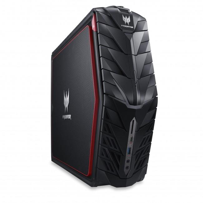 Acer Predator G1 to kompaktowy komputer stacjonarny dla graczy