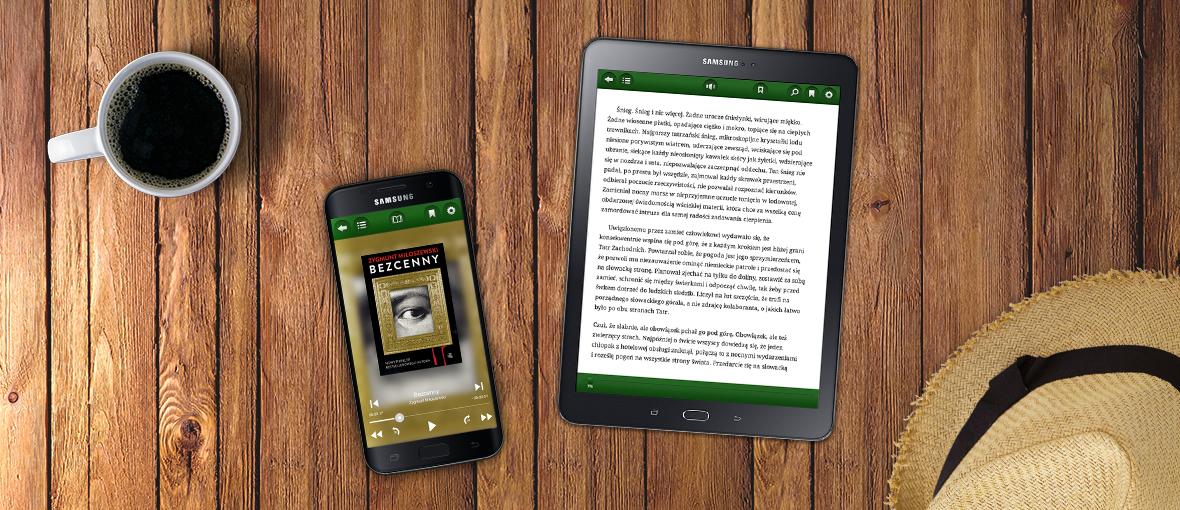Już nie musisz mieć Samsunga, żeby posłuchać książek na Legimi