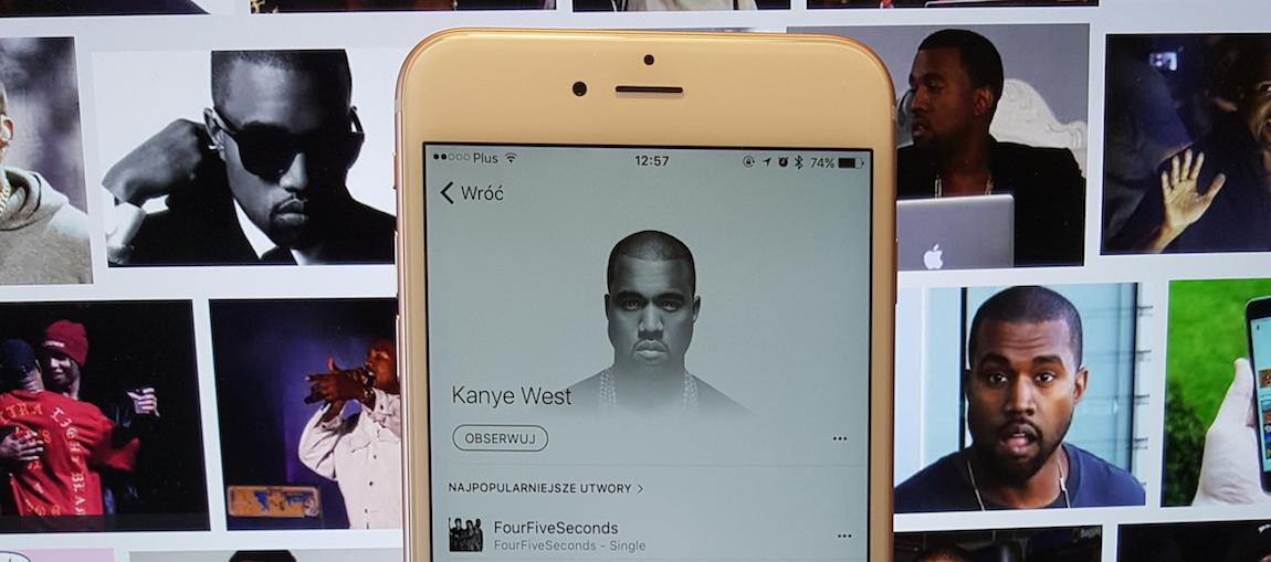 """""""Apple Music i Spotify? – nigdy w życiu"""". Te słowa Kanye Westa są już nieaktualne"""