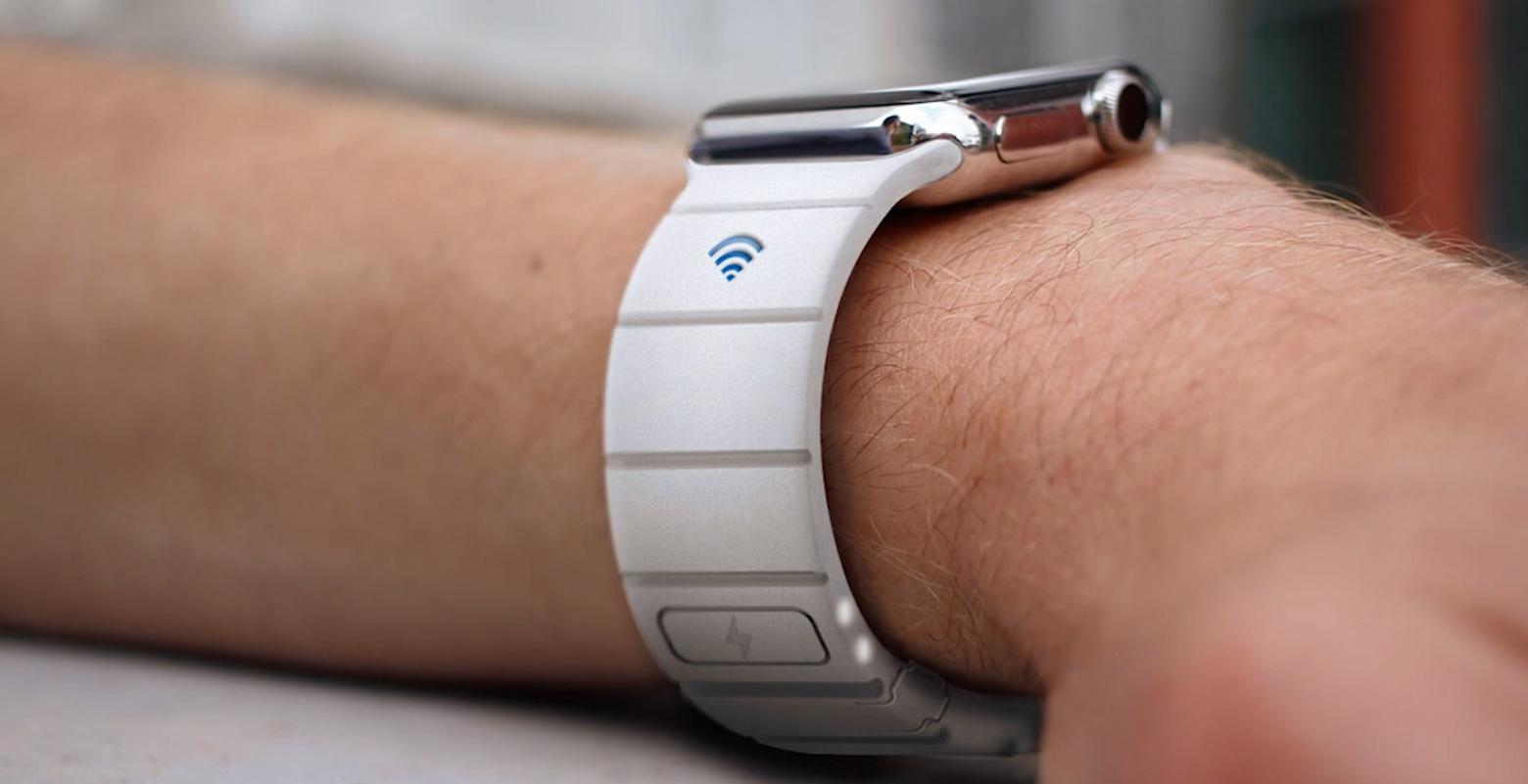 Apple wie lepiej – wcale nie chcesz kupić tego paska z powerbankiem do Apple Watcha