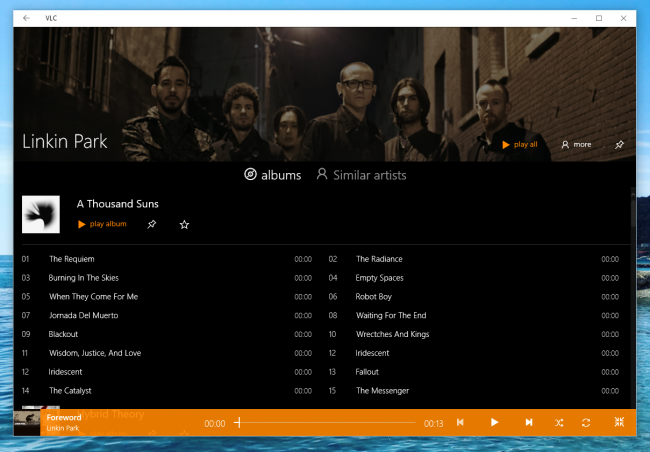 VLC dla Windows 10