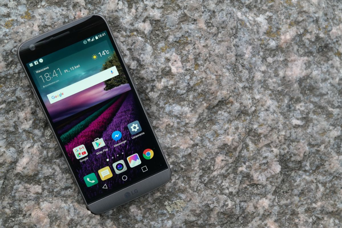 Świetny smartfon, ale po co ten moduł? LG G5 – recenzja Spider's Web