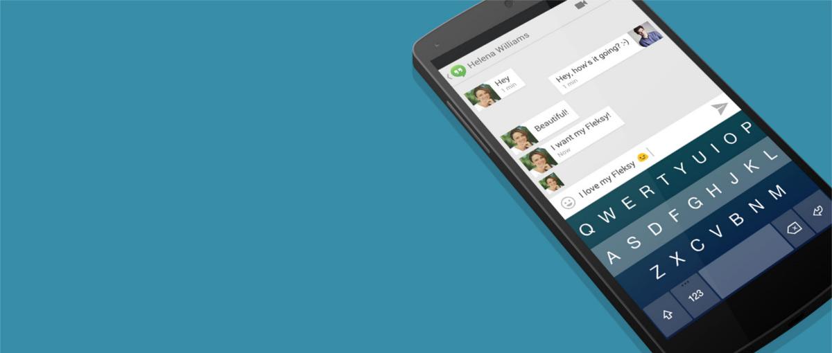 Fleksy – najlepsza klawiatura na Androida z jakiej korzystałem