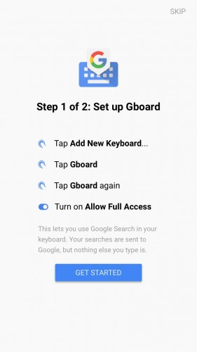 GBoard to klawiatura Google'a na iPhone'a