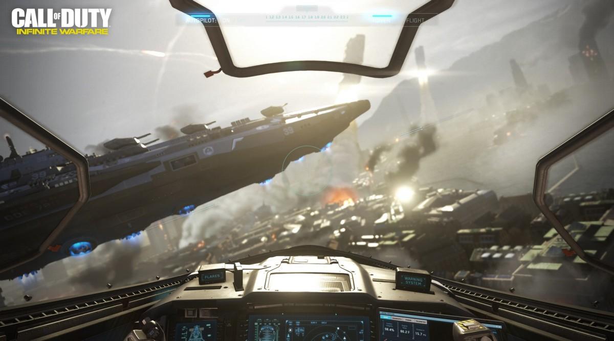 Czas oczyścić atmosferę wokół Call of Duty: Infinite Warfare dla Windows 10