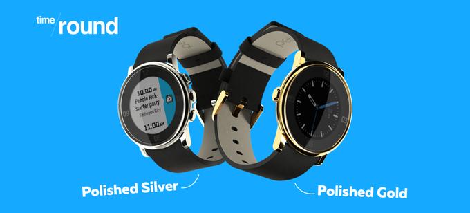 Tak eleganckiego smartwatcha jeszcze nie widziałeś. Oto nowy Pebble Time Round