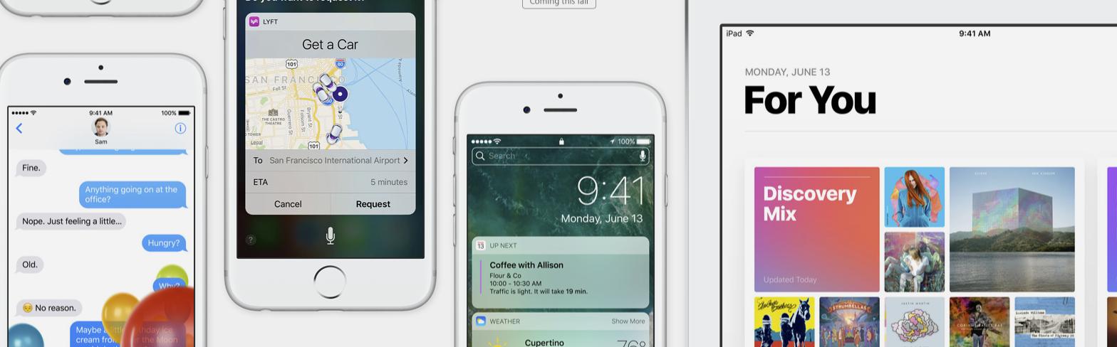 iOS 10 oficjalnie. Wszystko, co musisz wiedzieć o nowym systemie Apple
