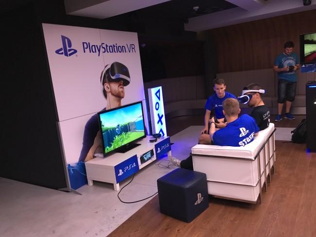 Pokaz PlayStation VR w Warszawie