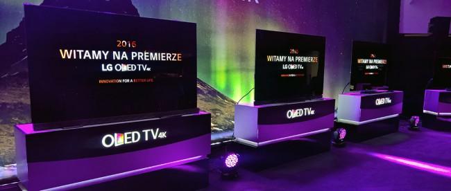 polskie ceny LG OLED TV 4K
