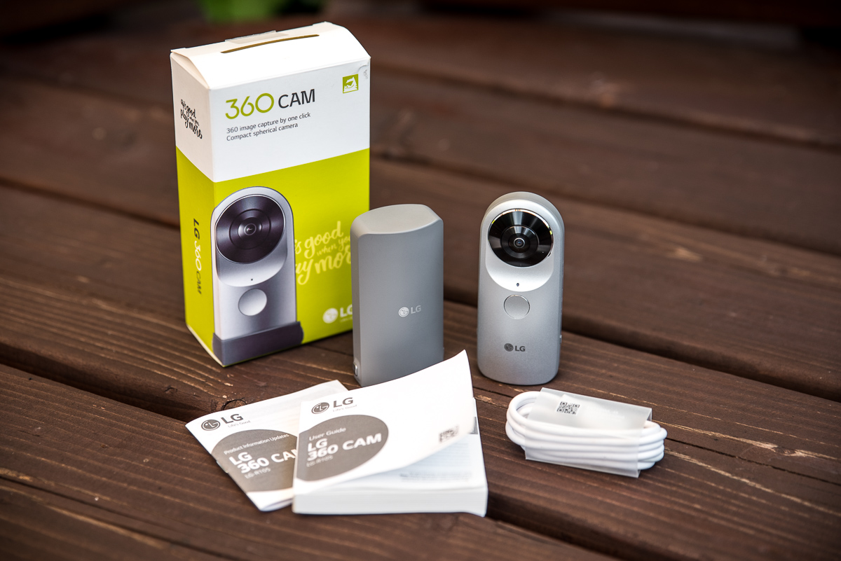 To były bardzo odświeżające testy. LG 360 Cam – recenzja Spider's Web