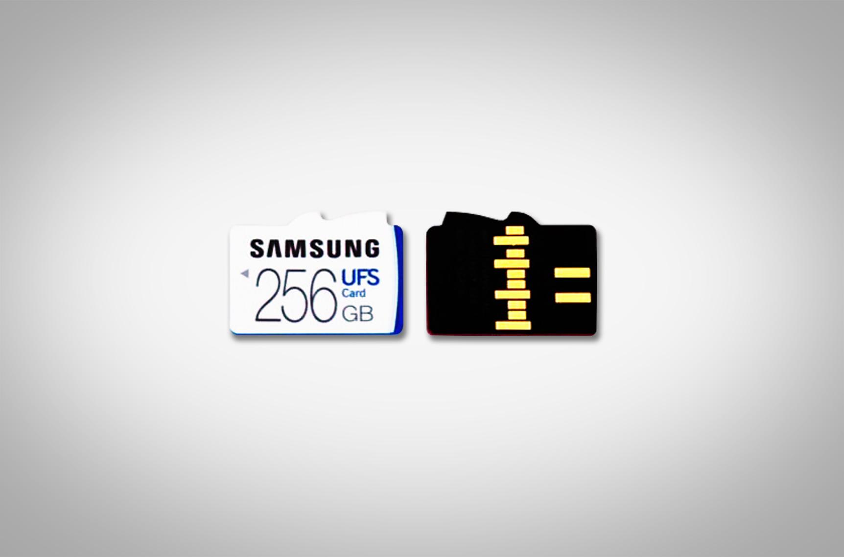 Samsung UFS, następca karty micro SD