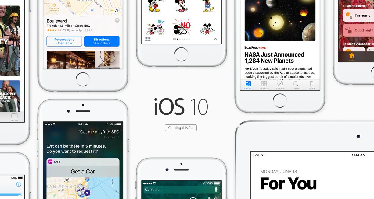 Zobacz, jak zmienił się system na smartfonach i tabletach Apple – sprawdzamy iOS 10 Beta
