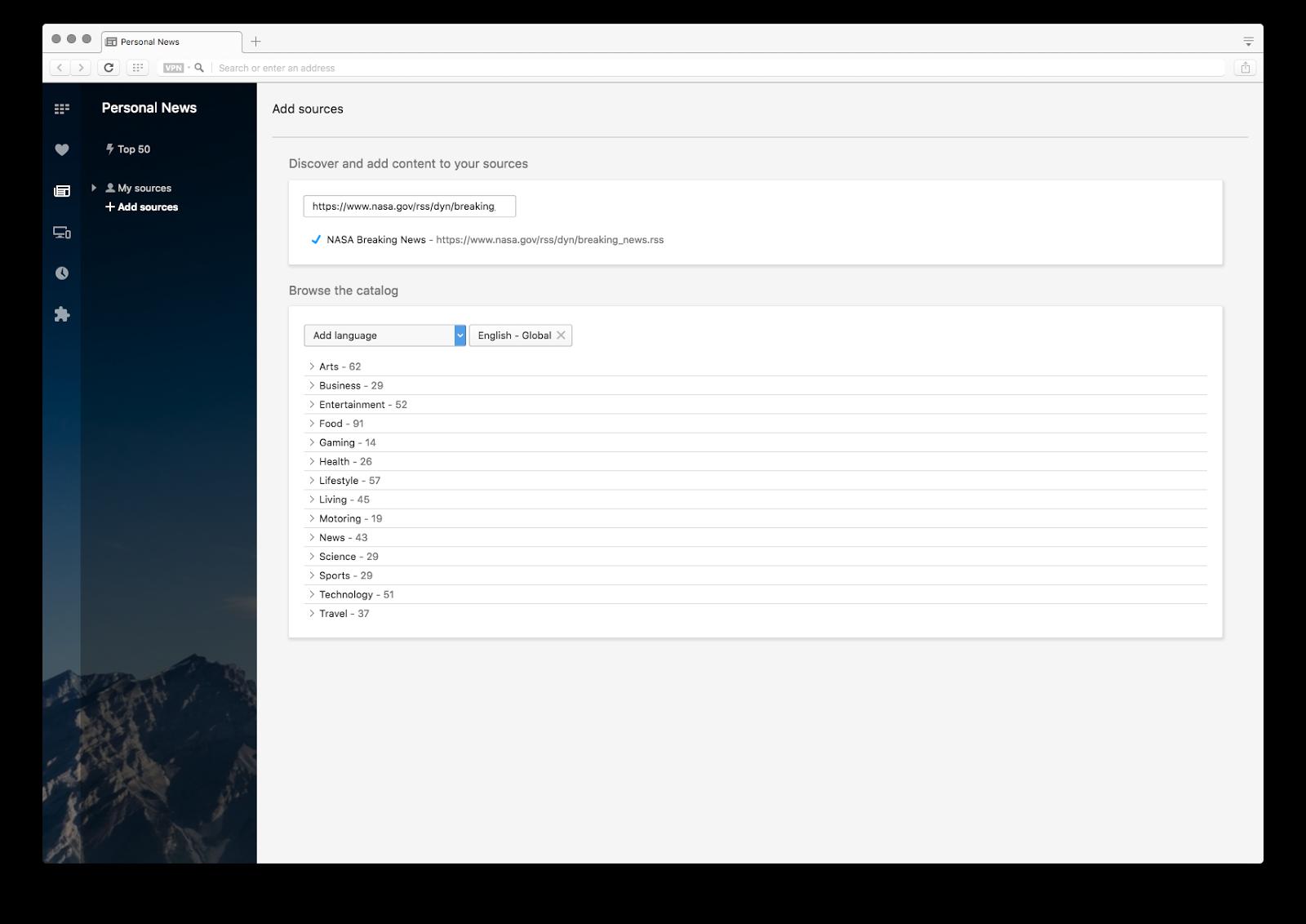 Opera zyska własny czytnik RSS i wpsarcie dla Chromecasta.