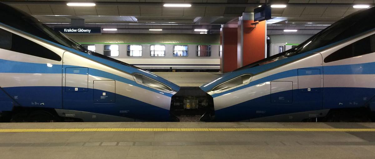 Zdjęcie dnia: Te pociągi Pendolino nie zderzyły się. One tak przywiozły pielgrzymów