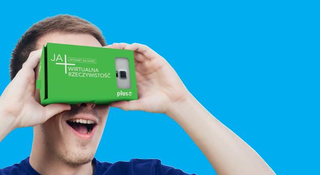 Kup starter w Plus Internet na Kartę, a gratis otrzymasz… gogle wirtualnej rzeczywistości
