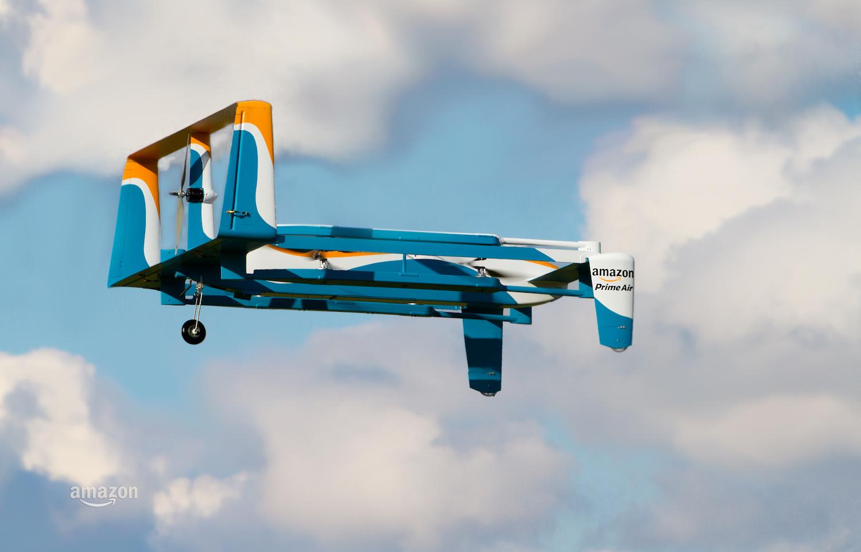 Podnieś wysoko głowę i wypatruj dronów Amazona. Zaczęły latać nad Europą