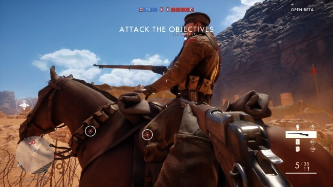 Battlefield 1 beta PS4 3