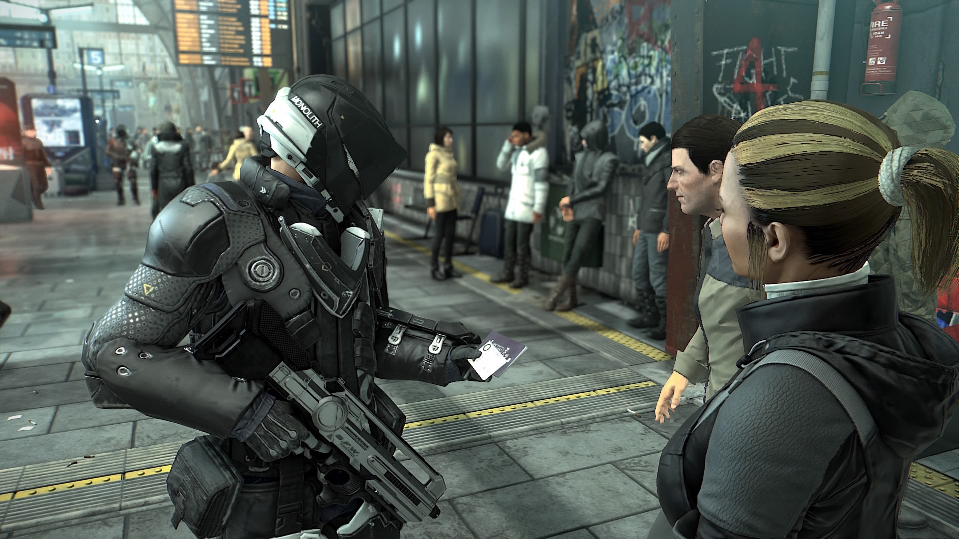 Jak będzie wyglądać technologia użytkowa w 2029 roku? Sprawdzamy na przykładzie Deus Ex: Mankind Divided