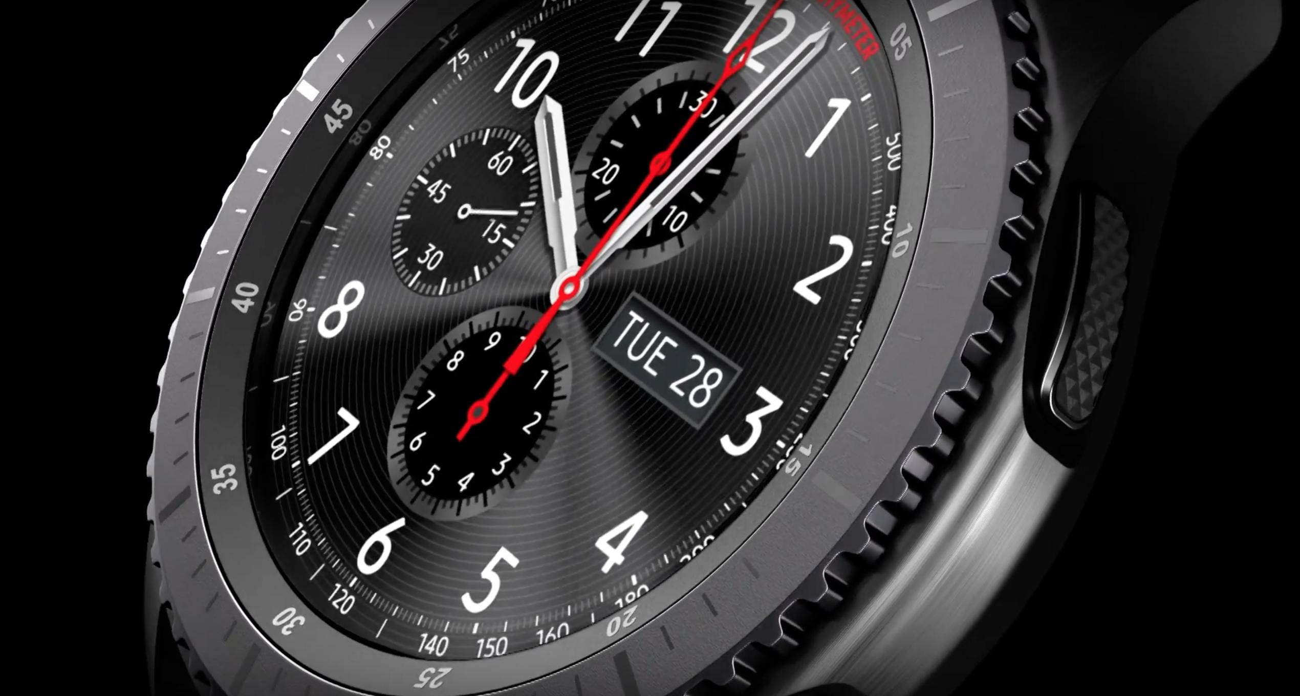Już jest! Samsung Gear S3 – smart zegarek, którego nie będziesz wstydził się nosić