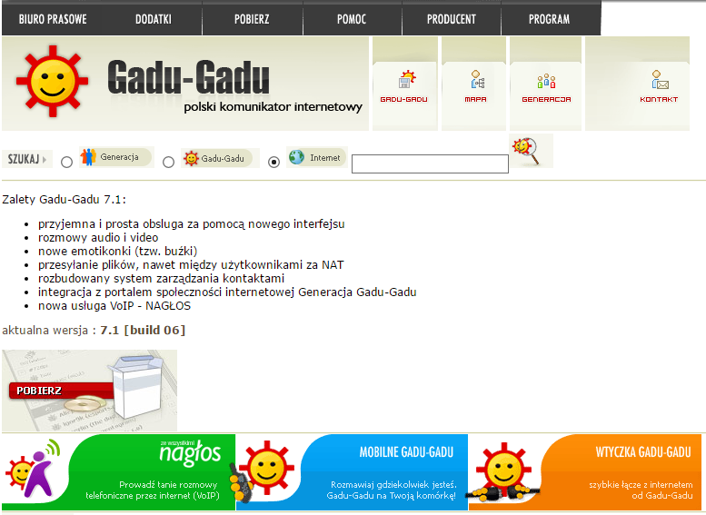 Gadu-Gadu - społecznościowa potęga w Polsce. Do czasu pojawienia się Facebooka