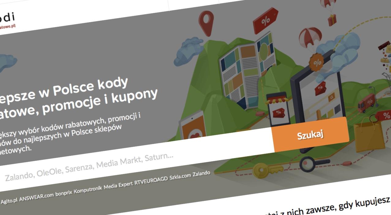 Popularne KodyRabatowe.pl to teraz Picodi. Z okazji rebrandingu przygotowano wiele atrakcyjnych kodów
