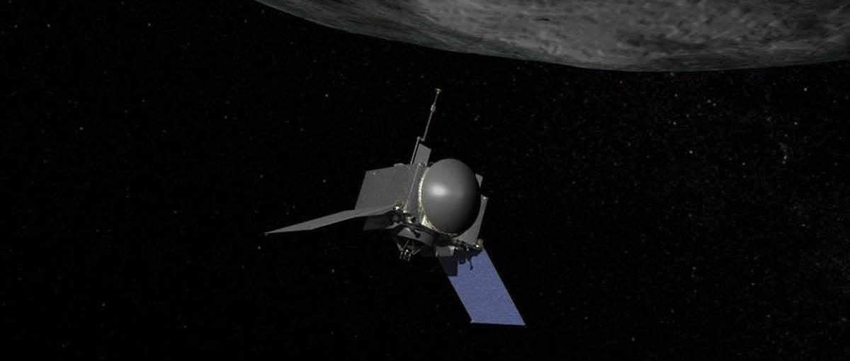 Paczka z kosmosu, czyli po co sonda OSIRIS-REx leci do planetoidy Bennu