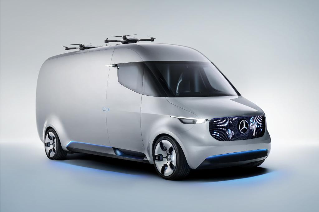Mercedes-Benz Vision Van - Exterior ; Mercedes-Benz Vision Van – Exterior;