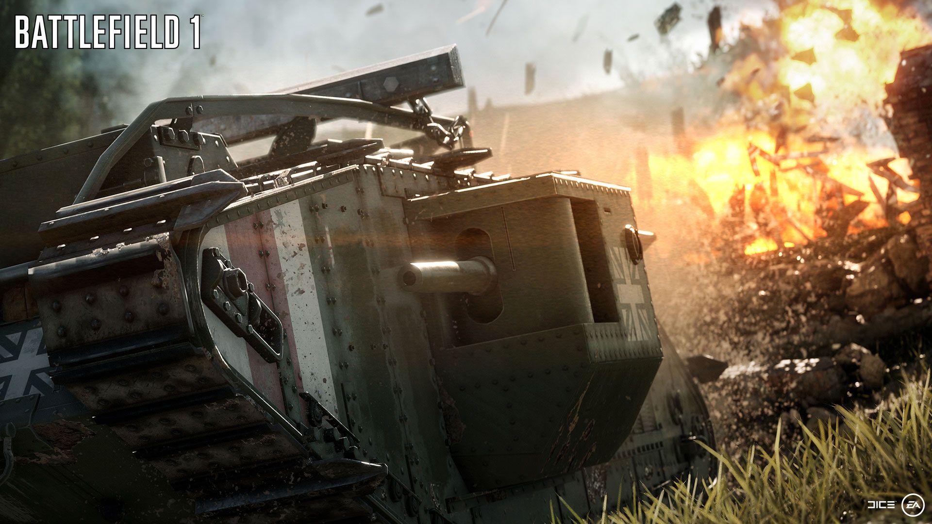 Czołgi w Battlefield 1 – śmiertelne pułapki na gąsienicach czy potężne mobilne fortece?