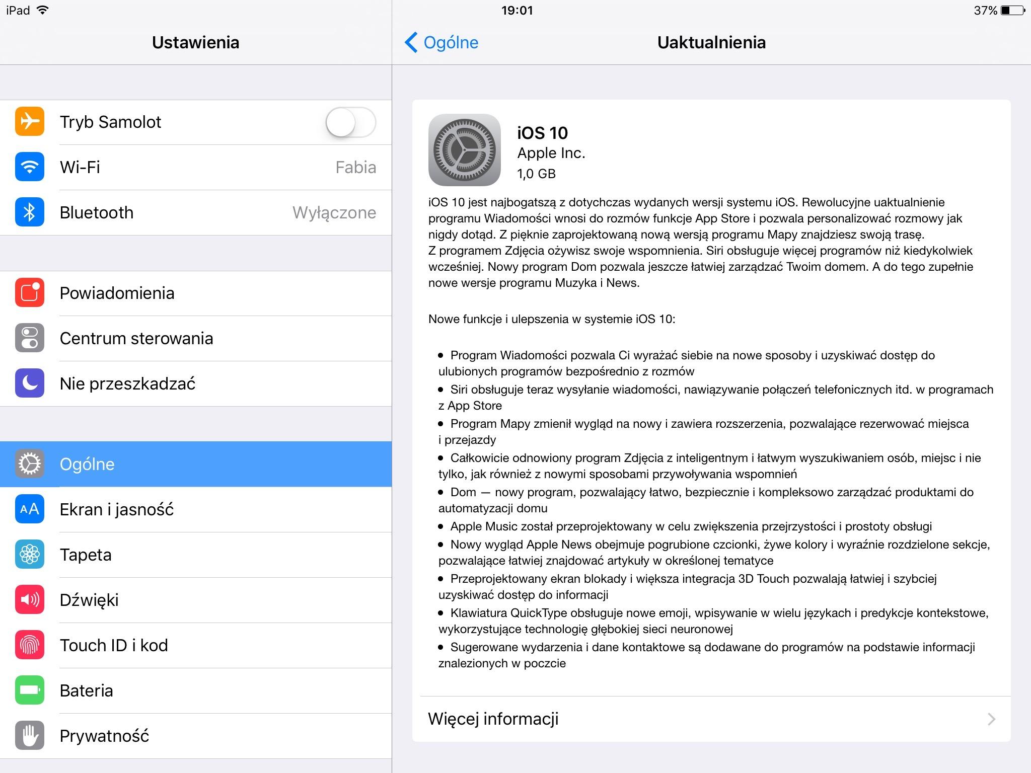 Apple Oficjalnie Udostępnia Aktualizację Do Ios 10