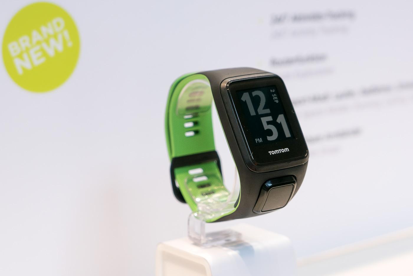 Innowacyjna opaska TomTom Touch i nudny zegarek Spark 3. Czekam na oba!