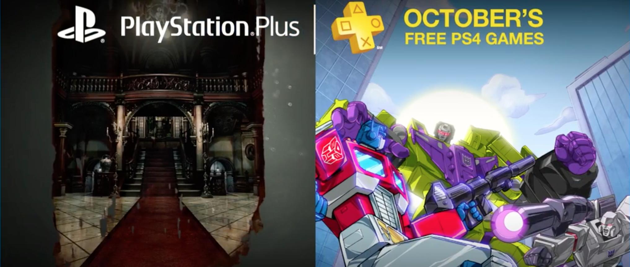Gry w PlayStation Plus na październik 2016 to najlepsze tytuły od czasu premiery PS4!