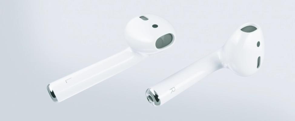 Poznaj AirPods – nowe bezprzewodowe słuchawki dla iPhone'a bez złącza 3,5 mm