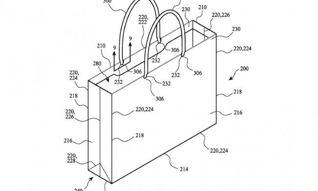 Oto papierowa torba Apple