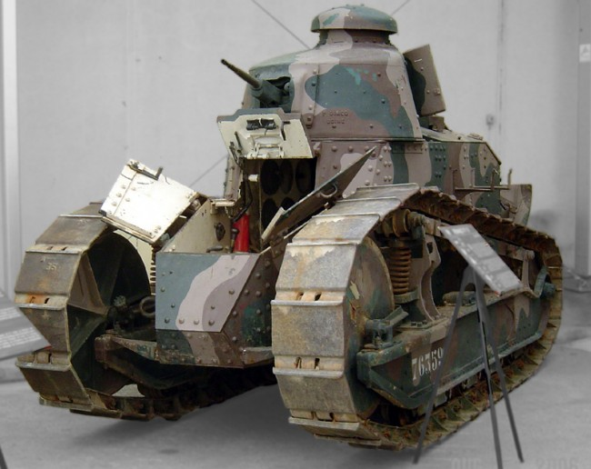 battlefield 1 renault FT
