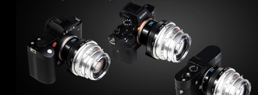 Raj fana fotografii. Adapter zmieniający pełną klatkę w średni format